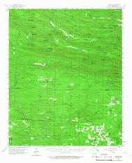 Umpire, Arkansas 1959 (1967) USGS Old Topo Map Reprint 15x15 AR Quad 260337