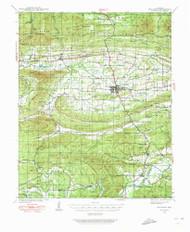 Waldron, Arkansas 1939 (1973) USGS Old Topo Map Reprint 15x15 AR Quad 260346