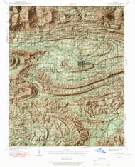 Waldron, Arkansas 1939 (1966) USGS Old Topo Map Reprint 15x15 AR Quad 260351