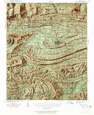 Waldron, Arkansas 1939 (1965) USGS Old Topo Map Reprint 15x15 AR Quad 260353