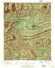 Waldron, Arkansas 1939 (1955) USGS Old Topo Map Reprint 15x15 AR Quad 260354