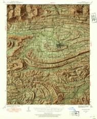 Waldron, Arkansas 1939 (1954) USGS Old Topo Map Reprint 15x15 AR Quad 260356