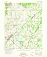 Walnut Ridge, Arkansas 1968 (1968) USGS Old Topo Map Reprint 15x15 AR Quad 260361