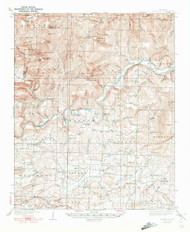 Watalula, Arkansas 1939 (1939) USGS Old Topo Map Reprint 15x15 AR Quad 260365