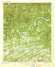 Watalula, Arkansas 1939 (1939) USGS Old Topo Map Reprint 15x15 AR Quad 260366