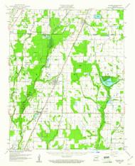 Weiner, Arkansas 1959 (1961) USGS Old Topo Map Reprint 15x15 AR Quad 260370