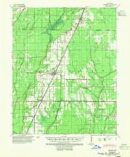 Weiner, Arkansas 1939 (1954) USGS Old Topo Map Reprint 15x15 AR Quad 260368