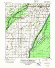 Kennett, Missouri 1940 (1943) USGS Old Topo Map Reprint 15x15 AR Quad 324994