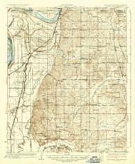 Horn Lake, Mississippi 1935 (1935) USGS Old Topo Map Reprint 15x15 AR Quad 336932