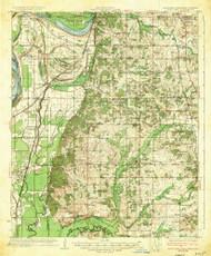 Horn Lake, Mississippi 1935 (1935) USGS Old Topo Map Reprint 15x15 AR Quad 336933