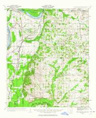 Horn Lake, Mississippi 1932 (1964) USGS Old Topo Map Reprint 15x15 AR Quad 336930