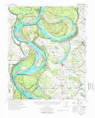Lamont, Mississippi 1977 (1977) USGS Old Topo Map Reprint 15x15 AR Quad 260138
