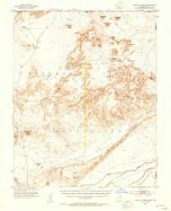 Agathla Peak, Arizona 1952 (1954) USGS Old Topo Map Reprint 15x15 AZ Quad 314294