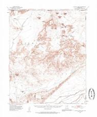 Agathla Peak, Arizona 1952 (1959) USGS Old Topo Map Reprint 15x15 AZ Quad 314295