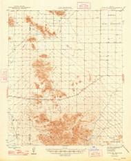 Antelope Peak, Arizona 1948 (1948) USGS Old Topo Map Reprint 15x15 AZ Quad 314317