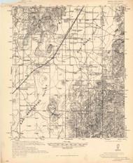Apache, Arizona 1940 (1940) USGS Old Topo Map Reprint 15x15 AZ Quad 464561