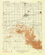 Avondale, Arizona 1948 (1948) USGS Old Topo Map Reprint 15x15 AZ Quad 314459