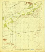 Aztec, Arizona 1929 (1929) USGS Old Topo Map Reprint 15x15 AZ Quad 314346