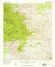 Bellota Ranch, Arizona 1957 (1958) USGS Old Topo Map Reprint 15x15 AZ Quad 314357