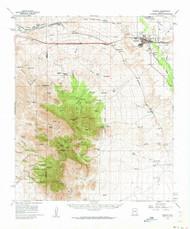 Benson, Arizona 1958 (1962) USGS Old Topo Map Reprint 15x15 AZ Quad 314363
