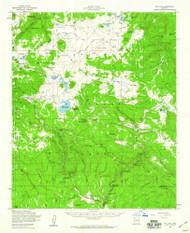 Big Lake, Arizona 1958 (1960) USGS Old Topo Map Reprint 15x15 AZ Quad 314368