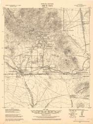 Bisbee, Arizona 1927 (1927) USGS Old Topo Map Reprint 15x15 AZ Quad 464592