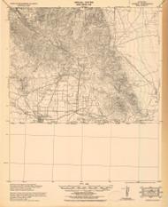Bisbee, Arizona 1933 (1933) USGS Old Topo Map Reprint 15x15 AZ Quad 464591