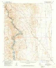 Black Canyon, Arizona 1959 (1961) USGS Old Topo Map Reprint 15x15 AZ Quad 314384