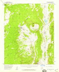 Buell Park, Arizona 1955 (1959) USGS Old Topo Map Reprint 15x15 AZ Quad 314431
