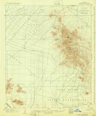 Camelback, Arizona 1906 (1930) USGS Old Topo Map Reprint 15x15 AZ Quad 314445