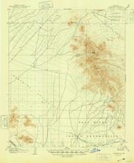 Camelback, Arizona 1906 (1948) USGS Old Topo Map Reprint 15x15 AZ Quad 314443