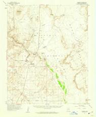 Cameron, Arizona 1955 (1959) USGS Old Topo Map Reprint 15x15 AZ Quad 314447