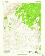 Cane Springs, Arizona 1954 (1959) USGS Old Topo Map Reprint 15x15 AZ Quad 314452