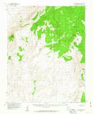 Cane Springs, Arizona 1954 (1963) USGS Old Topo Map Reprint 15x15 AZ Quad 314451