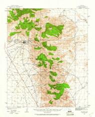 Chloride, Arizona 1939 (1961) USGS Old Topo Map Reprint 15x15 AZ Quad 314471