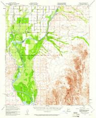 Cibola, Arizona 1951 (1961) USGS Old Topo Map Reprint 15x15 AZ Quad 314481