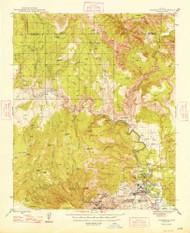 Clarkdale, Arizona 1948 (1948) USGS Old Topo Map Reprint 15x15 AZ Quad 314487