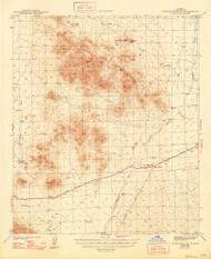 Cocoraque Butte, Arizona 1943 (1948) USGS Old Topo Map Reprint 15x15 AZ Quad 314507
