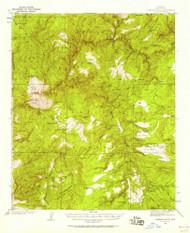 Diamond Butte, Arizona 1937 (1958) USGS Old Topo Map Reprint 15x15 AZ Quad 314533