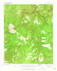 Diamond Butte, Arizona 1937 (1966) USGS Old Topo Map Reprint 15x15 AZ Quad 314534