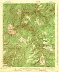 Diamond Butte, Arizona 1943 (1943) USGS Old Topo Map Reprint 15x15 AZ Quad 314535