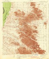 Dome Rock Mountains, Arizona 1940 (1940) USGS Old Topo Map Reprint 15x15 AZ Quad 314542