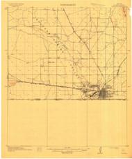 Douglas, Arizona 1914 (1914) USGS Old Topo Map Reprint 15x15 AZ Quad 702580