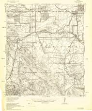 Elgin, Arizona 1940 (1940) USGS Old Topo Map Reprint 15x15 AZ Quad 464680