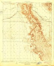 Fortuna, Arizona 1929 (1929) USGS Old Topo Map Reprint 15x15 AZ Quad 314599