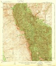 Galiuro Mountains, Arizona 1943 (1943) USGS Old Topo Map Reprint 15x15 AZ Quad 314610