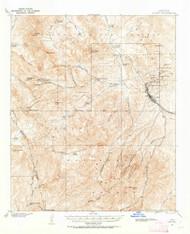 Globe, Arizona 1901 (1955) USGS Old Topo Map Reprint 15x15 AZ Quad 314628