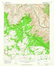 Havasupai Point, Arizona 1962 (1964) USGS Old Topo Map Reprint 15x15 AZ Quad 314661