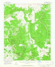 Hearst Mountain, Arizona 1962 (1964) USGS Old Topo Map Reprint 15x15 AZ Quad 314665