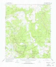 Hearst Mountain, Arizona 1962 (1977) USGS Old Topo Map Reprint 15x15 AZ Quad 314664